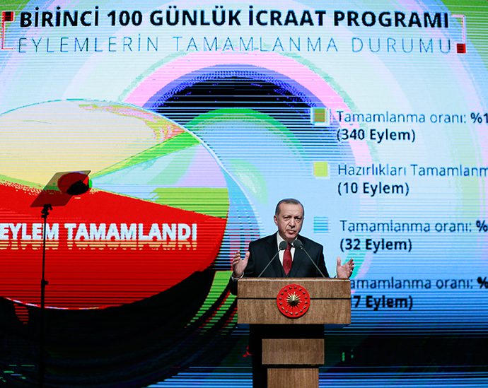 President Erdoğan lays out second 100-day action plan
