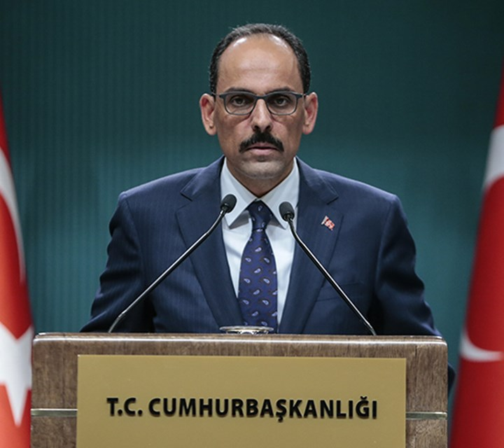 """Our fight against the PKK terrorist organization continues in every area"""
