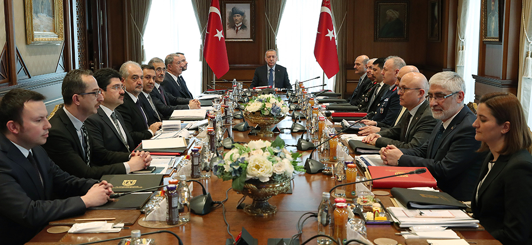 President Erdoğan chairs Defense Industry Executive Committee