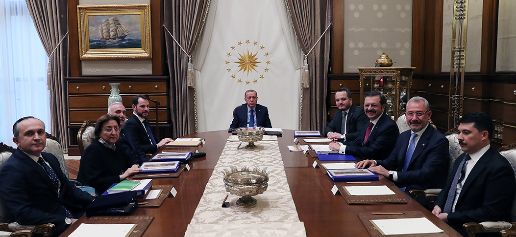 Turkiye Wealth Fund's Board of Directors convenedunder President Erdoğan's chairmanship