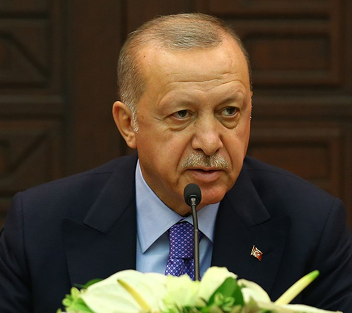 President Erdoğan: Turkey will not allow a terror corridor along its borders with Syria