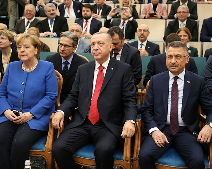 President Erdoğan and Chancellor of Germany, Merkel, inaugurated Turkish-German University's new facilities in Istanbul