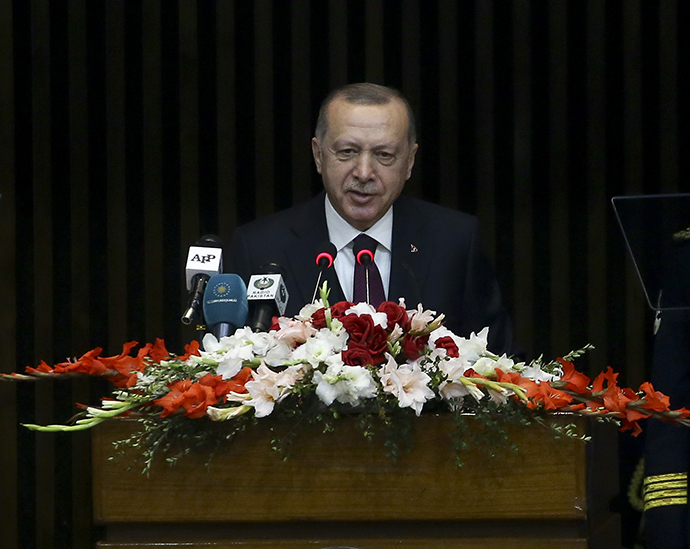 President Erdoğan delivered a speech at a Joint Session of the National Assembly and Senate of Pakistan