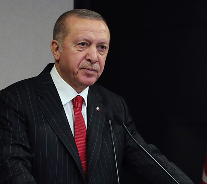 President Erdoğan: We have not only the means but also the morale and determination to defeat this pandemic