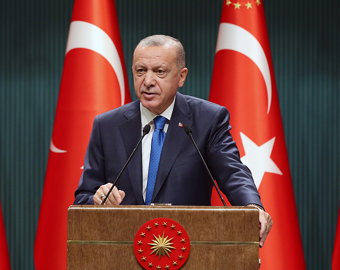 President Erdoğan held a press conference following the Presidential Cabinet meeting
